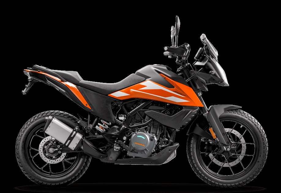 KTM adventure 250 sideview