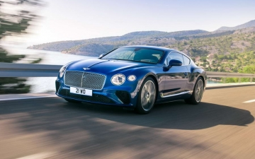 New Bentley Continental GT 10