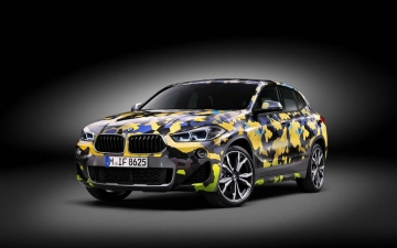 BMW X2  Digital Camouflage 10
