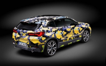 BMW X2  Digital Camouflage 12