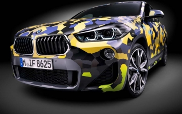 BMW X2  Digital Camouflage 13