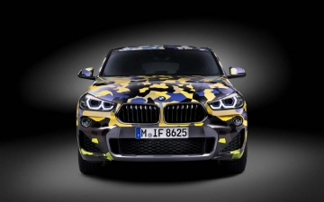BMW X2  Digital Camouflage 14