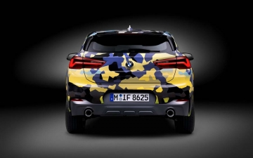 BMW X2  Digital Camouflage 15