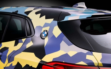 BMW X2  Digital Camouflage 17