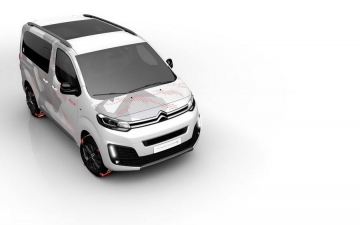 Citroen space tourer E concept 04