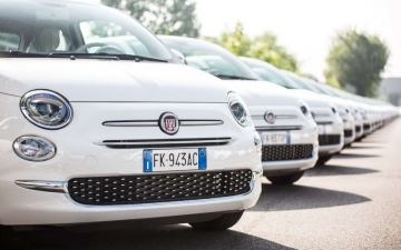 Fiat 500 Record Guiness 17