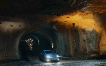 Ford Fiesta ST in a salt mine 11