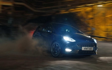 Ford Fiesta ST in a salt mine 12