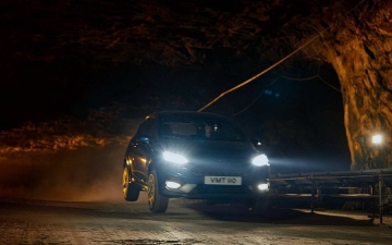 Ford Fiesta ST in a salt mine 15