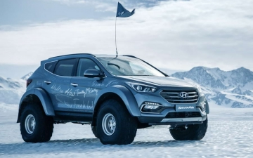 Hyundai Santa Fe - Shackleton 12