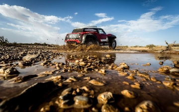 Mini Dakar X-raid Team 21