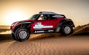 Mini Dakar X-raid Team 25