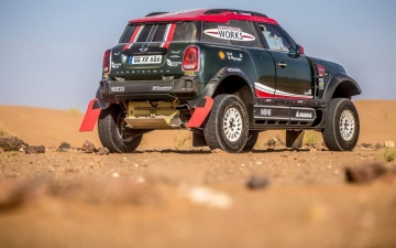 Mini Dakar X-raid Team 28