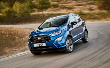 Ford EcoSport on the line 11