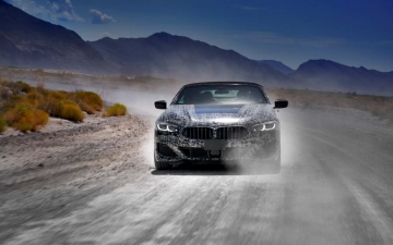 New BMW 8 Cabrio Death Valley 12