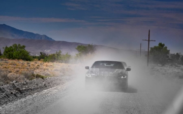 New BMW 8 Cabrio Death Valley 15