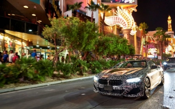 New BMW 8 Cabrio Death Valley 18