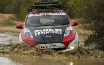 Nissan Leaf Rally 11