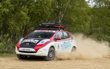 Nissan Leaf Rally 13