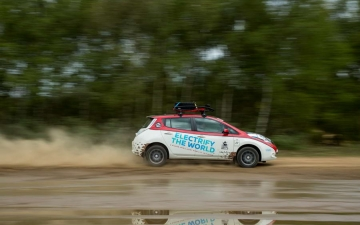 Nissan Leaf Rally 14