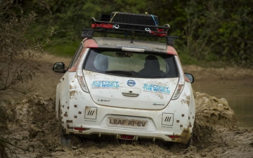Nissan Leaf Rally 18