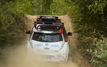 Nissan Leaf Rally 19