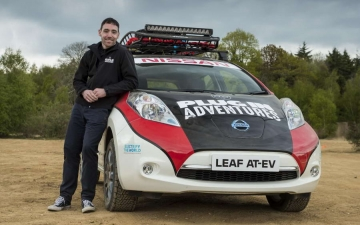 Nissan Leaf Rally 20
