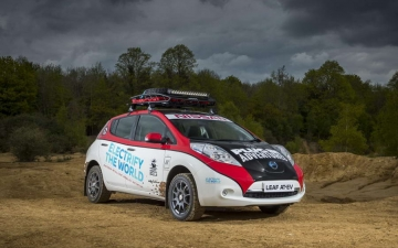 Nissan Leaf Rally 26