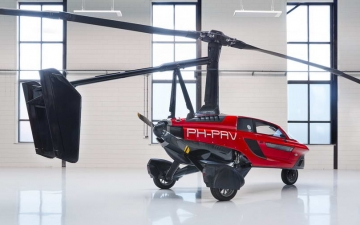 Pal - V liberty flying car 11