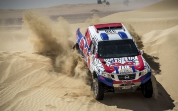 Nissan Dubai International Baja  05