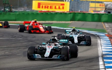 F1 Review GP Germany 01