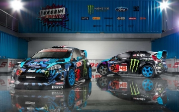 Hoonigan Racing Dvision Ford 10