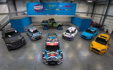 Hoonigan Racing Dvision Ford 11