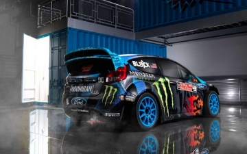 Hoonigan Racing Dvision Ford 17