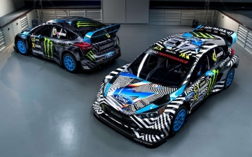 Hoonigan Racing Dvision Ford 18