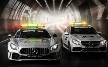 Mercedes F1 safety car 14