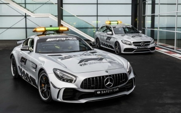 Mercedes F1 safety car 16