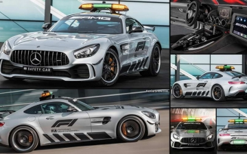 Mercedes F1 safety car 18