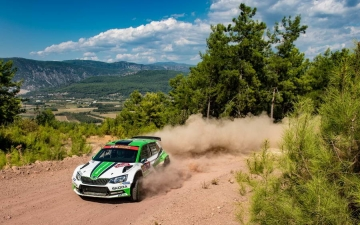 Skoda Turkey Rally 12