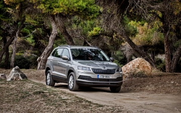 Skoda Karoq support systems 12