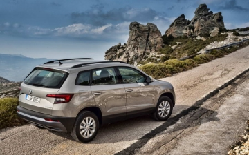 Skoda Karoq support systems 13