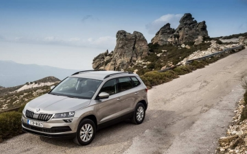 Skoda Karoq support systems 17