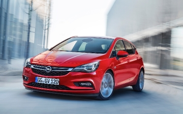 Opel Astra Test drive 130616
