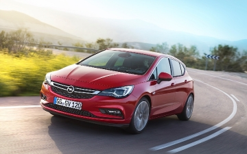 Test drive  Opel Astra