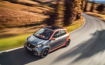 Test drive  Smart for four