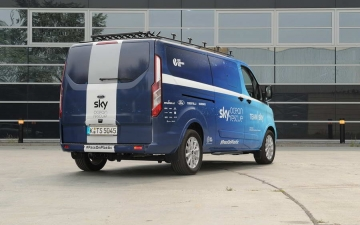 Ford Tourneo Custom TeamSky 12