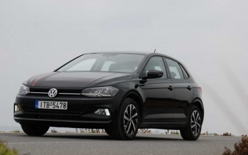 VW Polo crash test 12