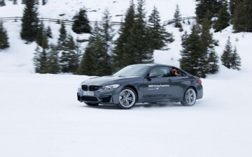 BMW winter driving experience 10