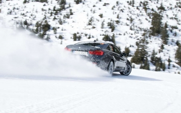 BMW winter driving experience 11