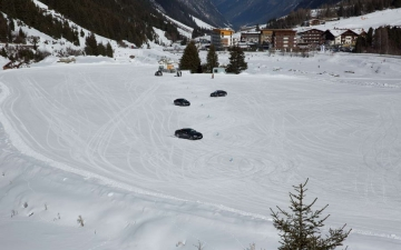 BMW winter driving experience 14